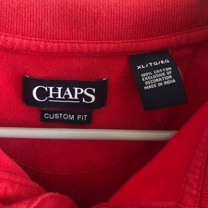 Chaps Shirts - ✨ 4/$15 Red polo